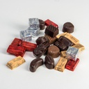 Assorted Chocolates - Transparent Gift Package (Size 260 gr)